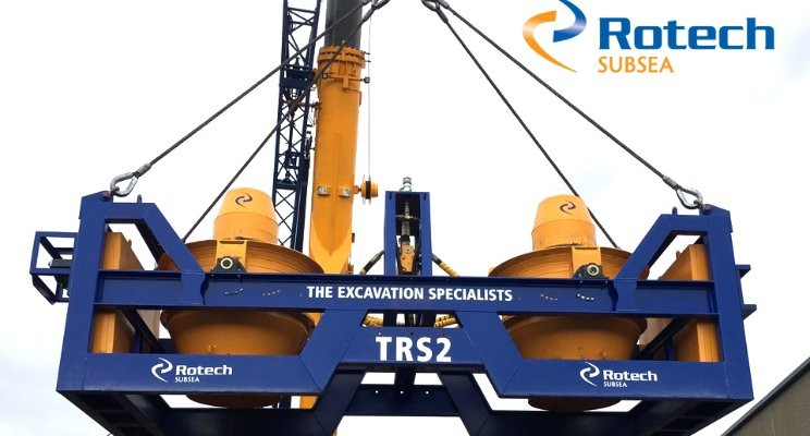 Rotech Subsea mobilise their new TRS2 CFE system for REDS